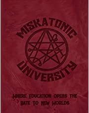 """Miskatonic University Where Education Opens The Gate To New Worlds: 2021 Large Daily Calendar With Goal Setting Section and Habit Tracking Pages, 8.5""""x11"""""""