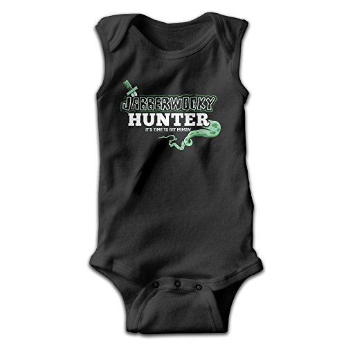 [BLUESPACE Jabberwocky Hunter Boy & Girl Infants Romper Jumpsuit 18 Months Black] (Out Of Your League Costumes)