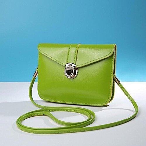 Purse Bag Phone Mini Purse Bags Handbag Zero Certificate Sale Shoulder Bag Shouder Messenger Leather Bag Small Coin Fashion Bag Messenger Crossbody Bag Green Bags Casual Bag Zycshang Single FnRfTWf