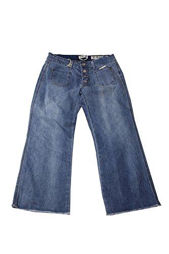 Button Fly Cropped Jeans (Indigo Rein Junior's Light Blue Button-Fly Cropped Jeans (Blue, 7))