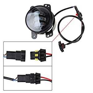 Amazon Com Led Fog Lights Lamp Adapter Wires For 2010 And