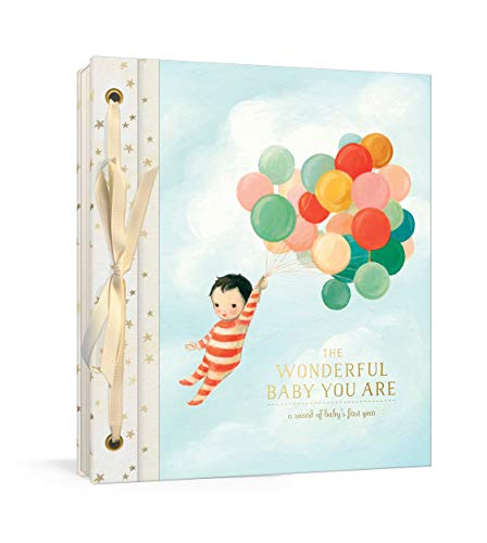 (The Wonderful Baby You Are: A Record of Baby's First Year: Baby Memory Book with Stickers and Pockets)