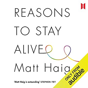 Image result for reasons to stay alive audiobook