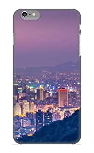 Iphone 6 Plus Case, Premium Protective Case With Awesome Look - Taipei 101 At Night Panoramic View(gift For Christmas)