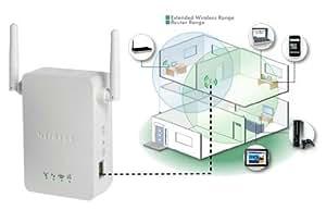 Netgear WN3000RP-100PES REPETIDOR WIRELESS UNIVERSAL. Conector integrado.