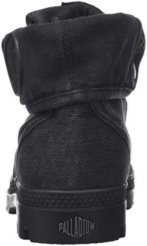 Metal Arricciati Pallabrouse Stivali Nero 862 Donna Baggy Palladium Black 1fqRwZ6W