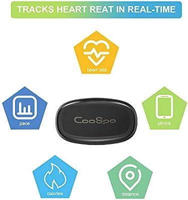 guoxuEE COOSPO Correa para el Pecho Ant Bluetooth V4.0 Fitness ...