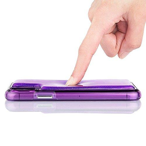 Case Mate Ipod Touch - Case-Mate - iPhone 8 Plus Case - Squish - Fidget Case - Gel Moves When Pressed - Soft Touch - Organic Glitter Gel - Purple