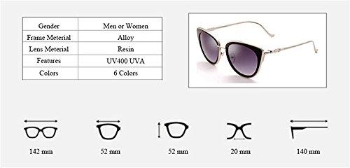 de Gato Moda gafas Gris Ojo Nuevo hombres caliente de verano Gafas de UV400 de Vintage Venta alta sol 2018 calidad estilo Dama mujer de diseñado sol Plata para de xYqEAZAw