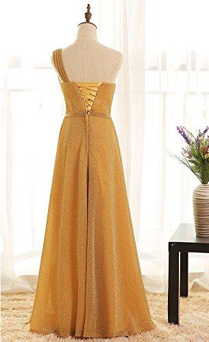 Drasawee Drasawee Drasawee Damen Gold Kleid Empire Damen Damen Kleid Gold Empire Empire XB0q5n