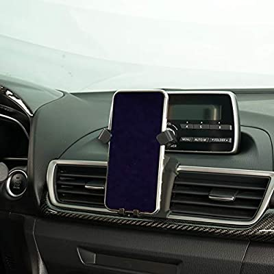 Phone Holder for Mazda 3,Dashboard Air Vent Adjustable Cell Phone Holder for Mazda 3 2020 2020,Car Phone Mount for iPhone 7 iPhone 6s iPhone 8,for Samsung,Smartphone for 4.7/5 Inches: Electronics