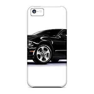 Bumper Hard Cell-phone Cases For Iphone 5c With Allow Personal Design Realistic Ford Mustang Pictures KennethKaczmarek