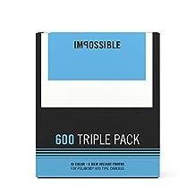Impossible Polaroid 600 Film Triple Pack