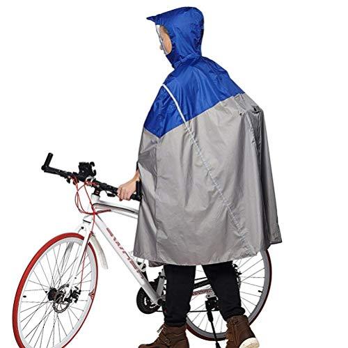 Blu Unisex Impermeabile Huixin Stile Adulti Cape Cappuccio Per Con Raincoat E Poncho Ragazza In O5dqrdTfU