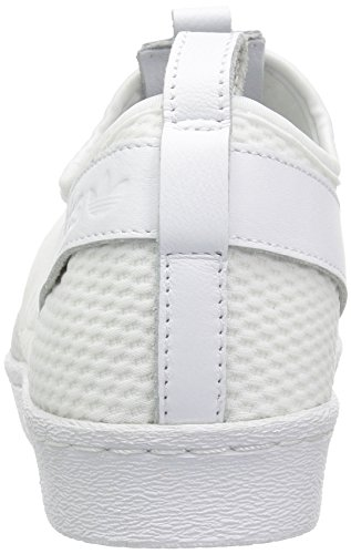 Adidas Women's Superstar Slip-On Originals Casual Shoe Ftwwht/Ftwwht/Cblack toX5K