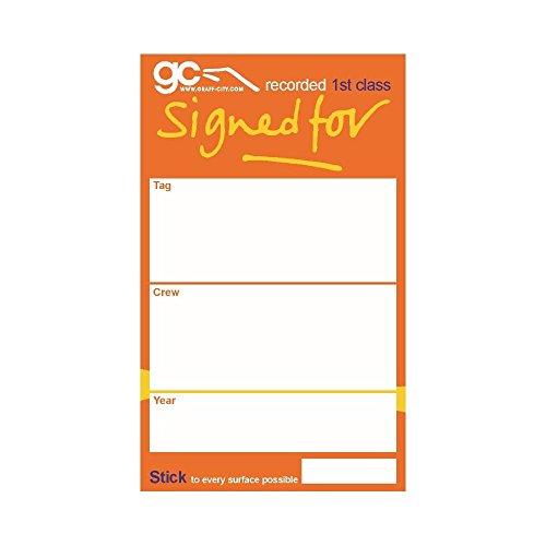 Signed Press (Gorilla Press x Graff-City 'Signed For' Stickers (30))
