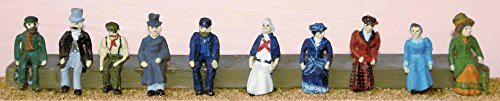 Langley Models Victorian / Edwardian Figures / People OO Scale UNPAINTED Kit F10