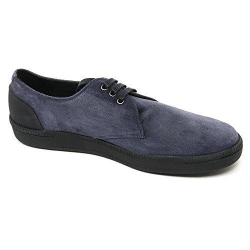 B9070 scarpa classica uomo CAR SHOE KUE813 scarpe blu baltico shoe man blu baltico
