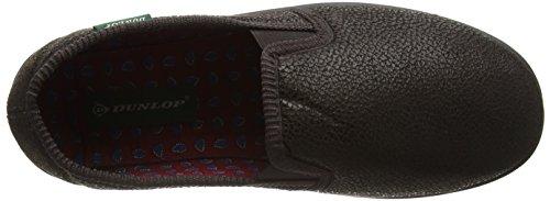 Dunlop Alain, Zapatillas de Estar por Casa para Hombre Marrón - marrón