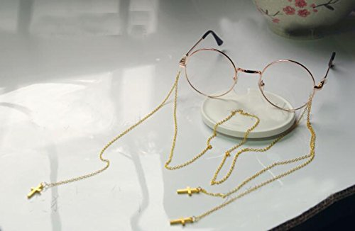 Punk Vintage Eyeglass and Chains for Women (Punk - Eyeglasses Punk