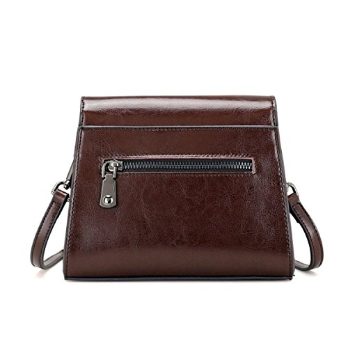 Vintage Retro Crossbody Soft Girl Weekend Shopper Bags Ladies Bag Zpfme Large Women Handbag Bag Black Leather s dxwnYp
