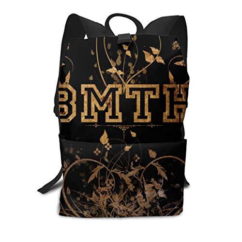 Bring Hori-zon Logo Me The Adult Backpack Students Shoulder Bag Casual Daypacks School Travel Rucksack