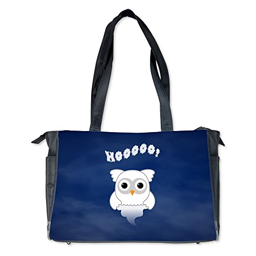 Diaper Bag Spooky Little Ghost Owl in the Mist