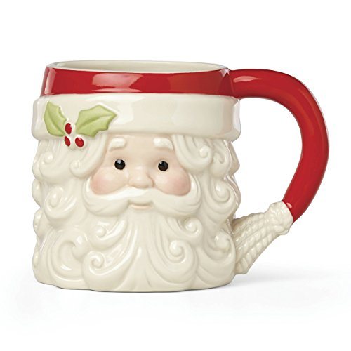 Lenox 879278 Hosting the Holidays Figural Mug, Multicolor ()