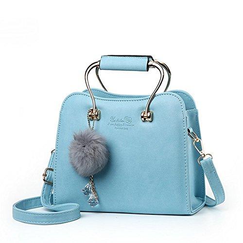 Borse Moda a elegante AVERIL Donna G e Spalla tracolla blu eleganza 41TWxqB5