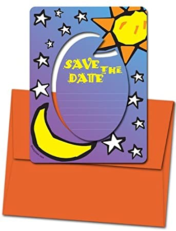 amazon com 8 magnetic invitations for 6 99 save the date sun