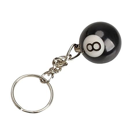 Llavero - SODIAL(R)2 x Llavero de bola de billar Anillo de ...