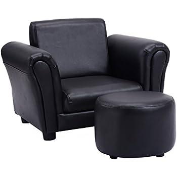 Costzon Kids Armrest Sofa Chair Children Relax Couch Armchair W/Footstool