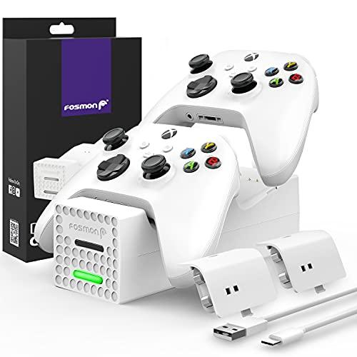 estacion de carga + 2 baterias recargables xbox series x/s