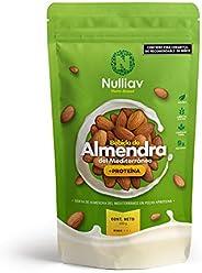 NULLIAV | Bebida de Almendra del Mediterráneo Original +Proteína 9g. en polvo soluble | 440g - Rinde 5.5L.