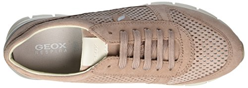 Geox Sukie F, Sneakers Basses Femme Rose (Antique Rose)