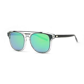Kjwsbb Gafas de Sol para Mujer Diseñador Acetato Marco Doble ...