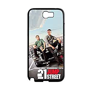Generic Soft Friendly Phone Case For Guys Printing With 21 Jump Street For Samsung Galaxy Note2 N7100 Choose Design 1