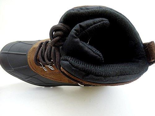 Iceface Snø Boot For Menn Vanntett Mørk Brun Brun