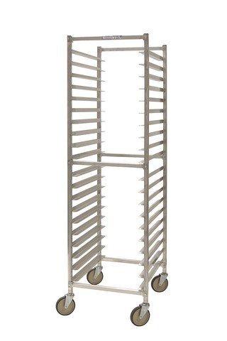 PVIFS WE5018KD W Series Knock-Down End Load Pan Rack 12 Pan Capacity 25 Length x 20-1/4 Width x 71-1/2 Height [並行輸入品]   B07N8CKQJF