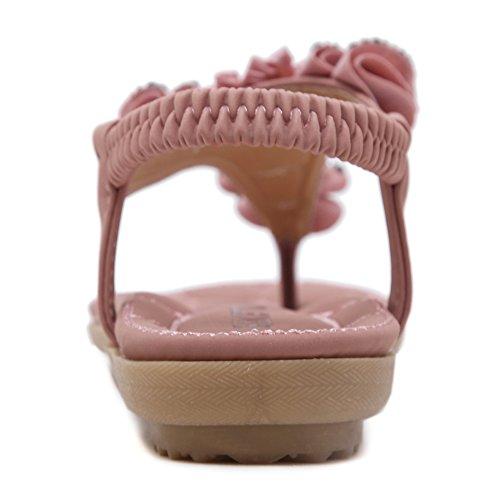 Insun - Zapatos con tacón Mujer Rosa
