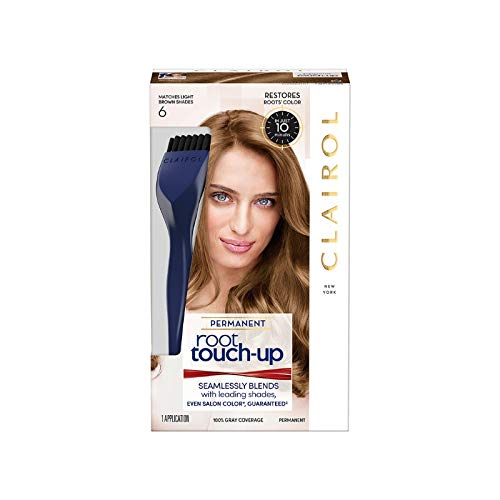 Clairol Nice 'n Easy Root Touch-Up, Light Brown #6(Pack of 2) ()