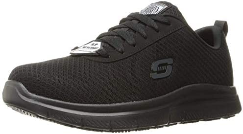 Skechers for Work Men's Flex Advantage Bendon Wide Work Shoe, Black, 10.5 W US: Buy Online at Best Price in UAE - Amazon.ae