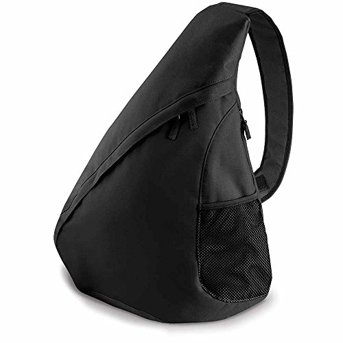 BagBase - Bolso al hombro para hombre negro negro