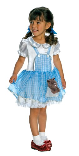 Wizard Of Oz Costume, Dorothy Costume, Small Size 4-6, 3 to 4 (Toto Wizard Of Oz Dog Costume)