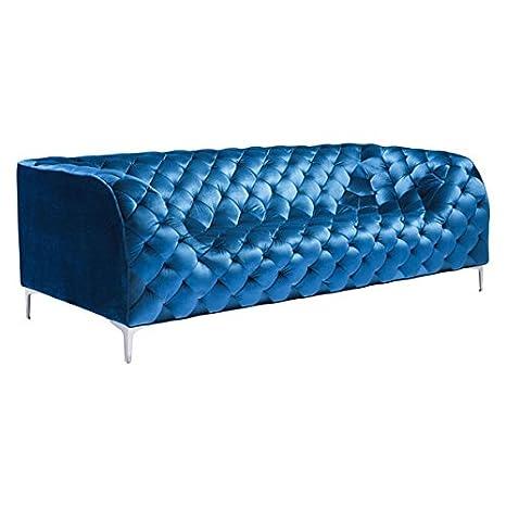 Zuo Providence Sofa, Blue