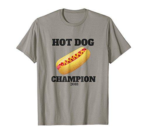 Hot Dog Eating Contest Champion T-Shirt