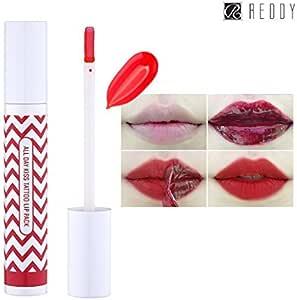 Reddy Todos los día beso tatuaje labio Pack 10g, Peel-Off de color 24 horas duradera mancha del labio, hecha en ...