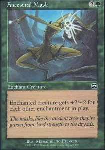 - Magic: the Gathering - Ancestral Mask - Mercadian Masques - Foil