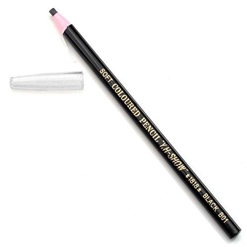 CCbeauty 2pc Pro Eyebrow Pencil Fashion Soft Crayon Eyeliner,#1