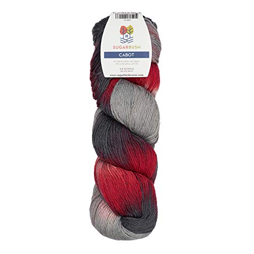 (Sugar Bush Yarn Cabot Double Knitting Weight, Lavish and Lace)